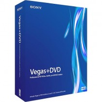 Sony Vegas 6+DVD Professional HD Video, Audio, and DVD Creation Software - Used