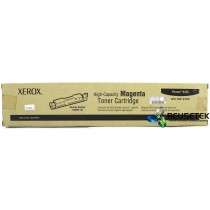 Xerox Phaser 6350 High-Capacity Magenta Toner Cartridge - 106R01145 (New)