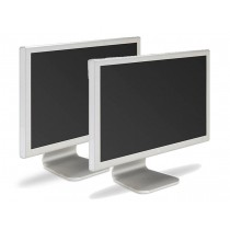 "Lot of 2 Apple A1081 (M9177LL/A) 20"" Cinema Display Monitor"