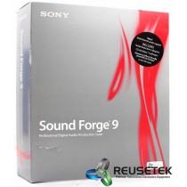 Sony Sound Forge 9 Professional Digital Audio Production Suite - New